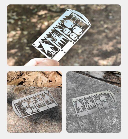 Survival Überlebens-Tool Card