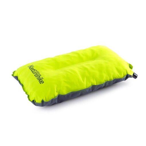 selbst aufblasbares Camping Kopfkissen Reise-Kissen