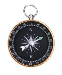 Schlüsselanhänger Kompass Gold Schweiz