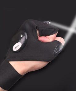Handschuh Taschenlampe