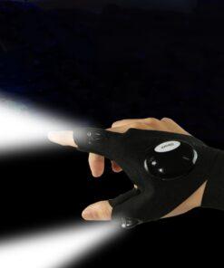 LED Handschuh Fingerlampe