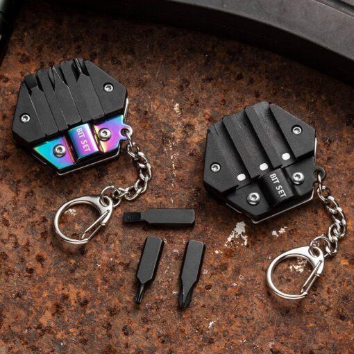 Multitool Schlüsselanhänger MEsser