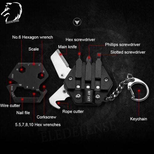 Schlüsselanhänger Multi Werkzeug Tool Schweiz