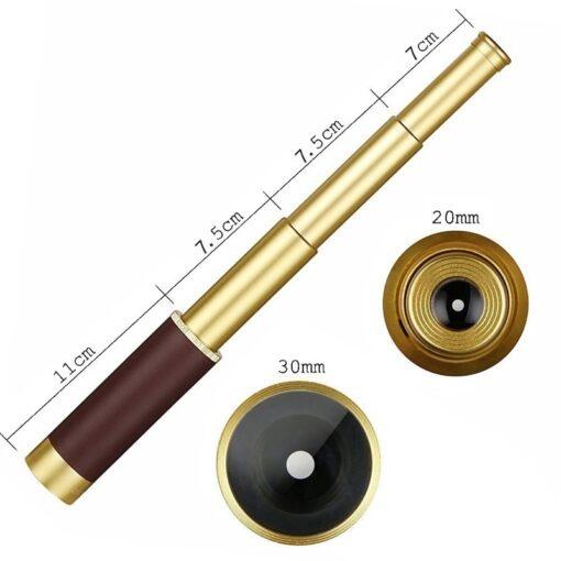 Gold Teleskop Fernrohr