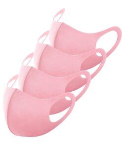 Schlichte Stoffmasken Rosa
