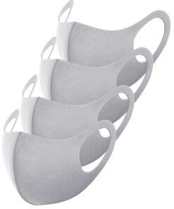 Stoffmasken Grau