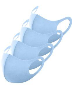 Schlichte Stoffmasken Blau