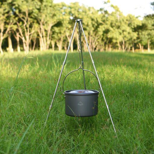 Camping Dreibein-Grill Stativ