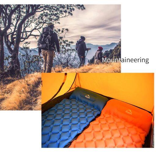 Aufblasbare Isomatte Camping Schweiz