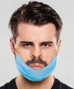 Stoffmaske Maske unterm Kinn bedruckt kaufen Schweiz