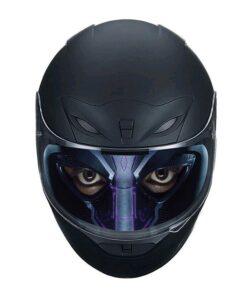 Visier-Sticker für Motorradhelm