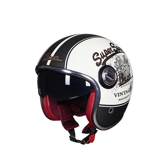 Motorrad Klapp-Helm Retro-Jet