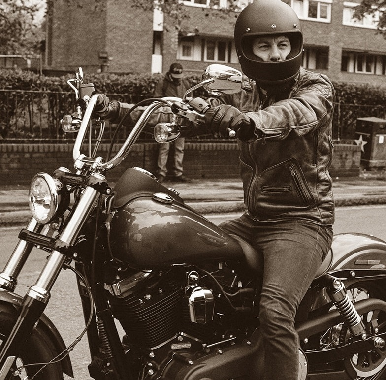 Retro Vintage Motorrad-Bekleidung kaufen
