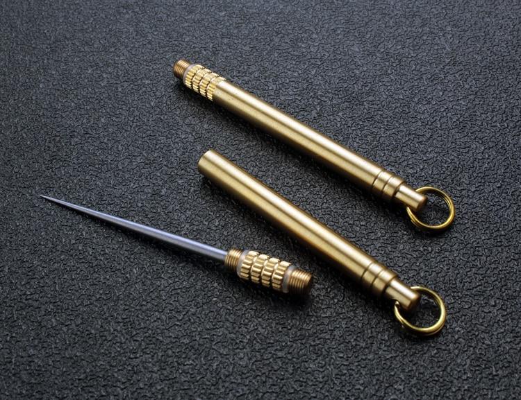 Metall Zahnstocher Schlüsselanhänger