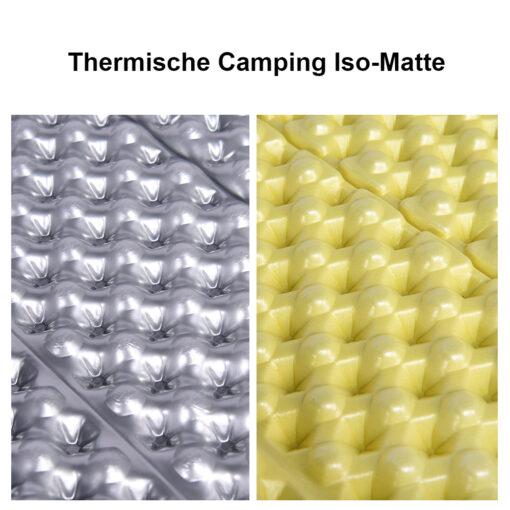 Campingmatte Iso-Thermik Matte