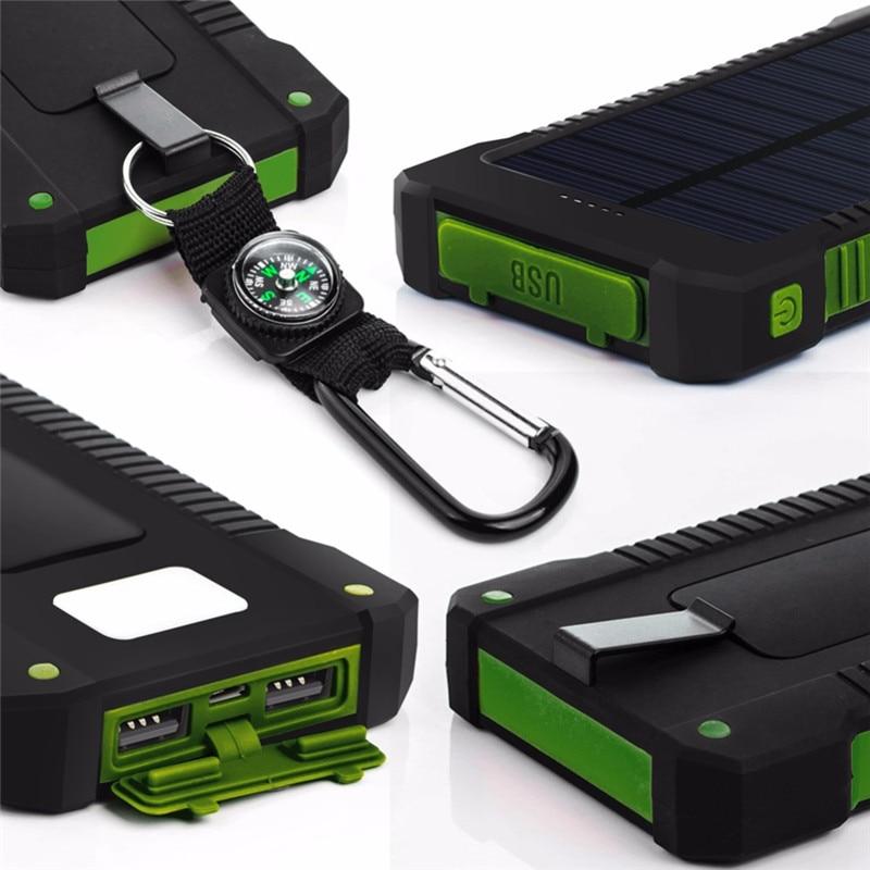 ED Solar-Powerbank Camping