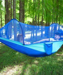 Camping Hängematte mit Mückennetz