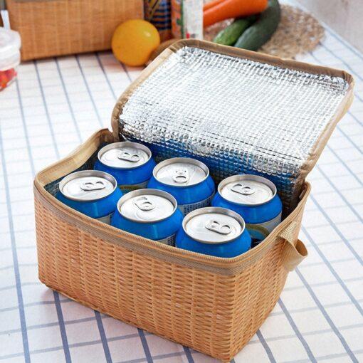 Picknickkorb mit Kühlfunktion