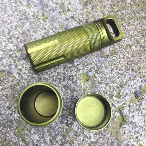 Medizin Kapsel Aluminium