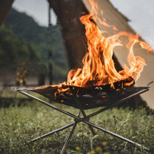 faltbare Netz-Feuerschale