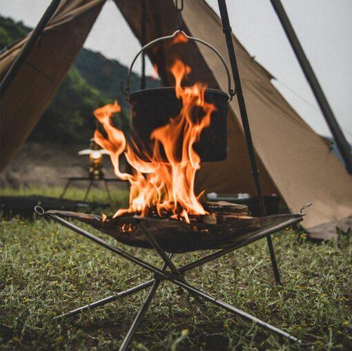 portable Netz-Feuerschale Camping