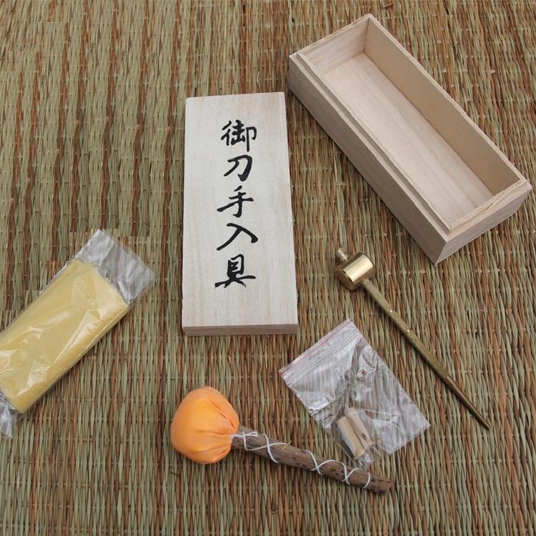 Katana Schwert Pflege- und Reinigungs-Set