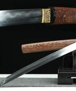 Shirasaya Katana Damast Stahl