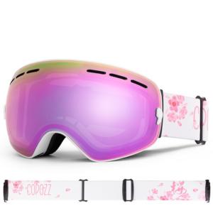 Damen Skibrille für Brillenträger