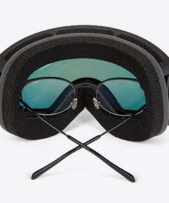 Skibrille über echten Brille tragen für Brillenträger