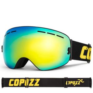 OTG Skibrille für Brillenträger mit Panorama Sichtfeld