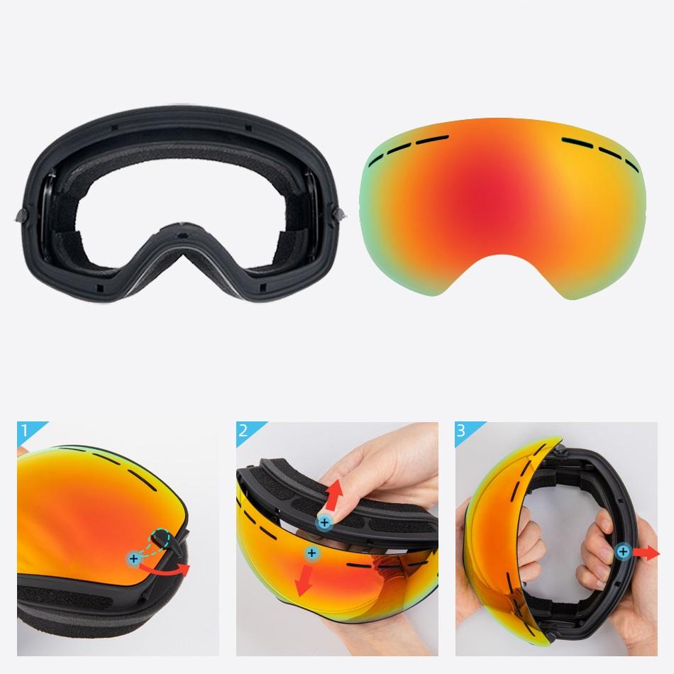 OTG Skibrille für Brillenträger