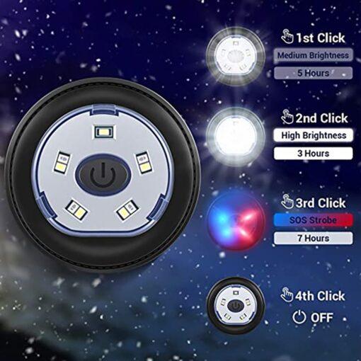 Bluetooth Winterkappe LED