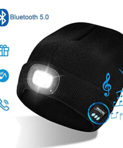 Winterkappe mit Bluetooth