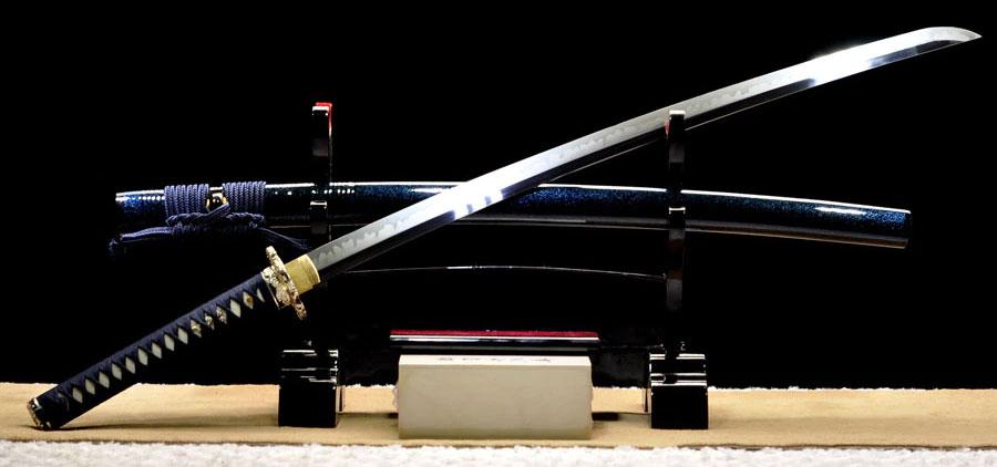 echtes Premium Samurai Katana Inazuma