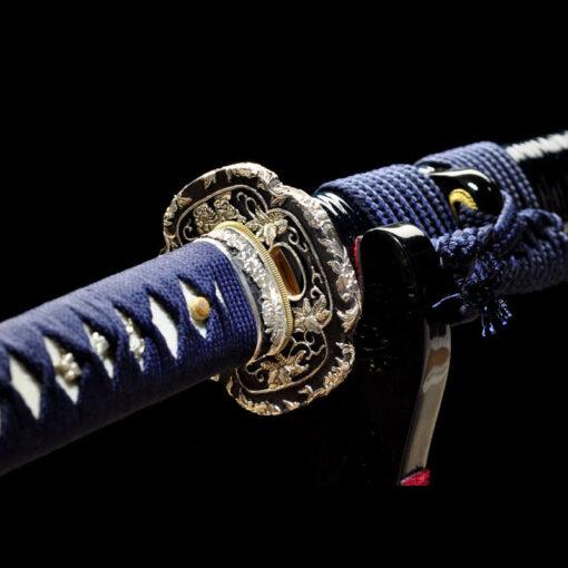 echtes Scharfes japanisches Katana