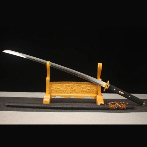 Gold Schwarzes Katana Schwert