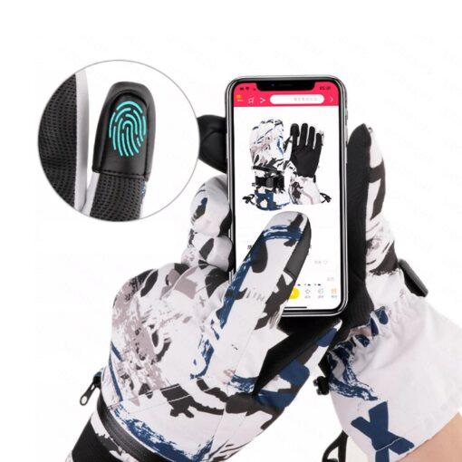 Skihandschuhe mit Touch Funktion