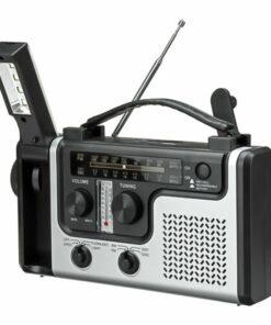 Handkurbel Notfall-Radio mit LED Taschenlampe